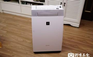 【日本必買電器】 SHARP KI-EX55 夏普加濕空氣清淨機  開箱及3個月使用心得