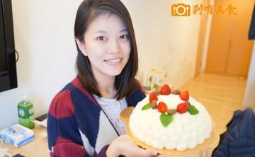 【新手爸爸學著點】 J女神生日祝福 @ 帕蒂COCO 超濃郁芋頭蛋糕 及 滿天星爆睡6連拍