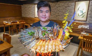 水森水產 | 超狂蝦霸王鍋 台中最強痛風鍋居然有40隻蝦子 今年父親節就選這裡啦!