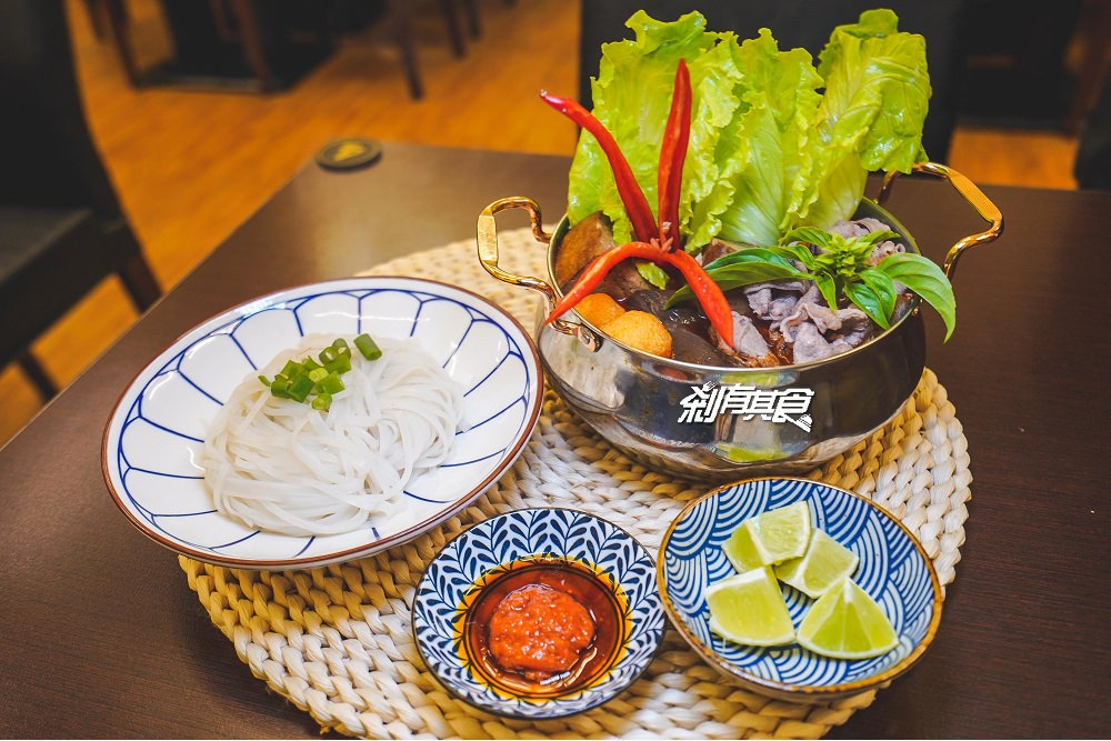 越好吃越南料理 | 臺中大里美食 越式火鍋新上市 越南老闆娘 文青風設計 – 剎有其食