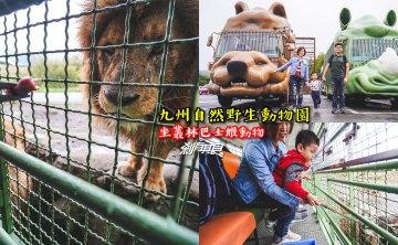 九州自然野生動物園 | 九州親子景點 坐叢林巴士餵食獅子好好玩!(叢林巴士線上預約方法/影片)