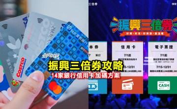 振興三倍券信用卡優惠攻略 | 14家銀行信用卡加碼方案搶先看 電子支付加碼優惠 各縣市三倍券加碼好康