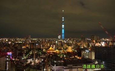 [東京景點]夜。淺草-喧囂過後的浅草寺雷門,別有一番風味