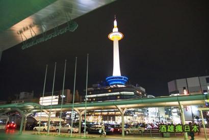 [京都]登上京都地標「京都鐵塔」-欣賞京都市區日夜景