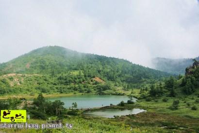 [群馬]鄰近草津溫泉的美麗山湖景色-『白根山湯釜』