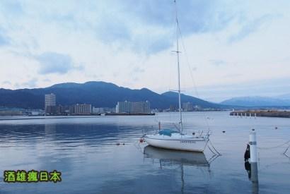 [滋賀大津景點]琵琶湖畔散步與咖啡館Étoile(エトワール)令人驚艷的美味蛋土司