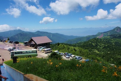 [長野]橫手山天空步道賞美景,雲上餐廳嚐美味麵包