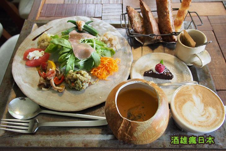 [沖繩美食]PLOUGHMANS LUNCH BAKERY(農夫午餐麵包店)-寧靜山坡旁的優雅早午餐 - 酒雄瘋日本