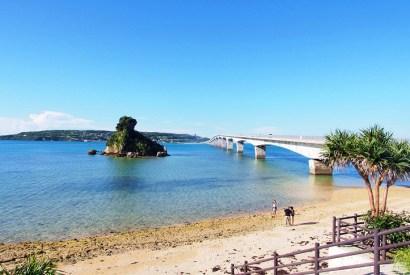 [沖繩]古宇利大橋與美麗淺灘-琉球版亞當夏娃之地