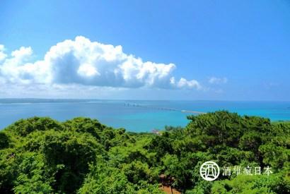 [沖繩宮古島]牧山展望台-眺望伊良部大橋的絕景