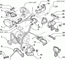 Catalogue Alfa Romeo 147 BZ/DS (2000-2010): FUEL INJECTION