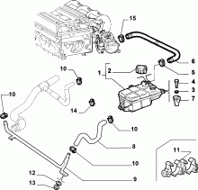 Catalogue Alfa Romeo GT (2003-2010): COOLING SYSTEM