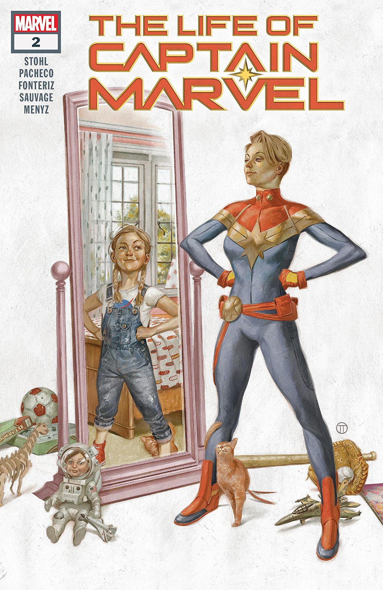 La Vie De Captain Marvel : captain, marvel, Captain, Marvel, Issues, (2018), (Marvel)