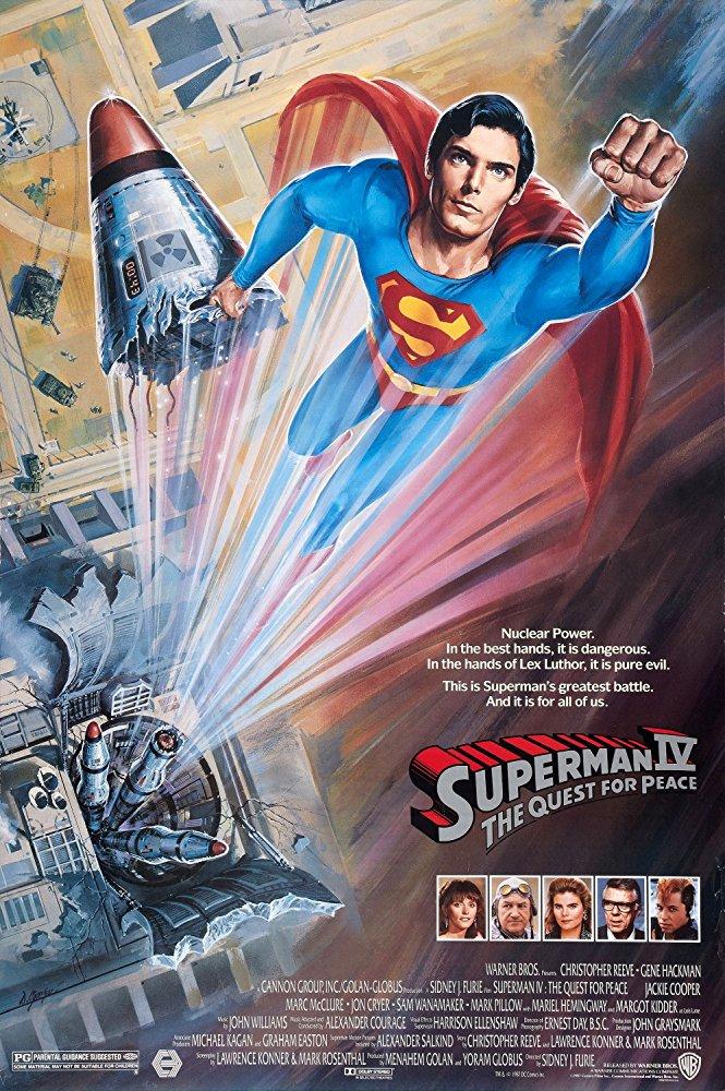 Retour Vers Le Pass Superman 4 1987