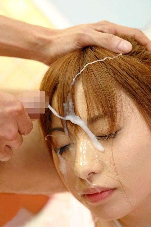 【三次】顔やお口に射精されちゃった女の子のエロ画像part2・1枚目