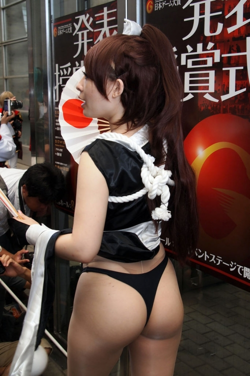 【三次】女コスプレイヤーのちょいエロ画像part4・9枚目