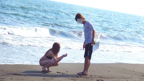 【三次】夏だ!海だ!湘南海岸を歩く誘っているかのような水着姿の女の子達をナンパして気が済むまでヤリまくったエロ画像・37枚目