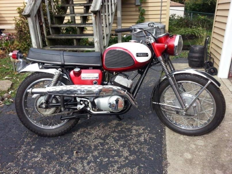 1966 Yamaha Motorcycles For
