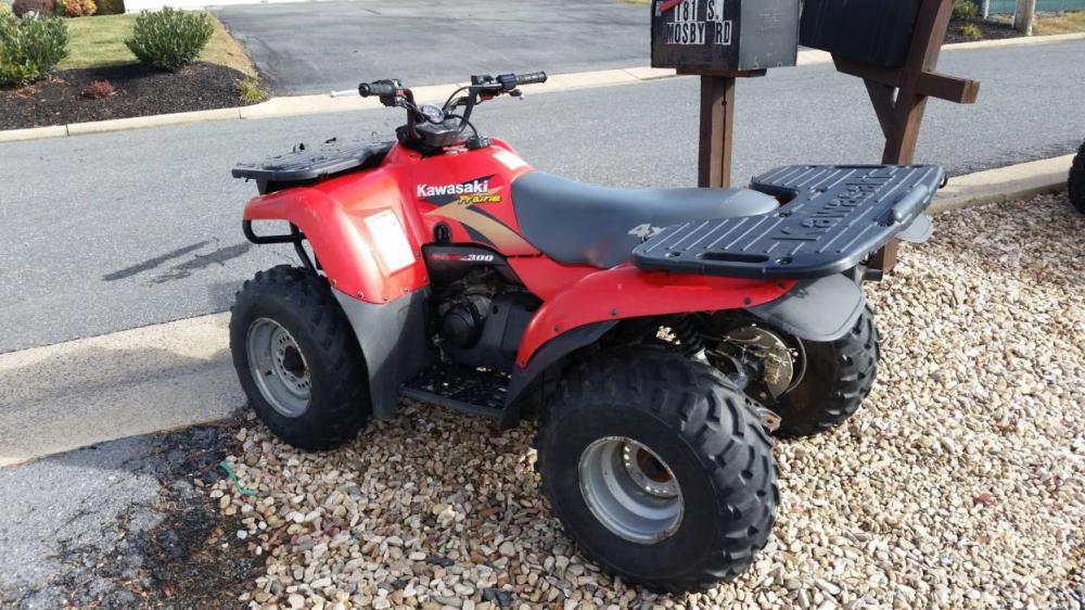 medium resolution of 1999 kawasaki prairie 300 4x4