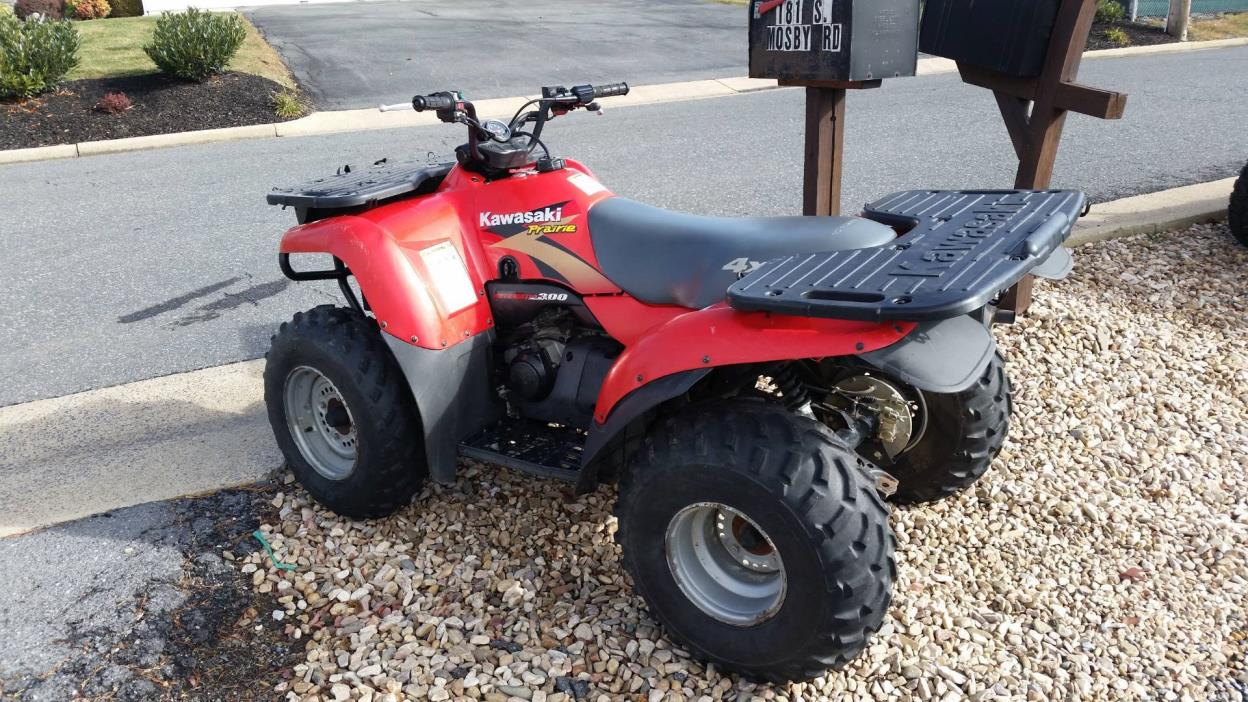 hight resolution of 1999 kawasaki prairie 300 4x4