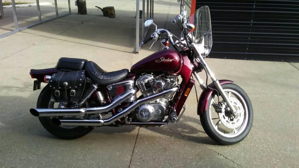 1989 Honda Shadow Motorcycle