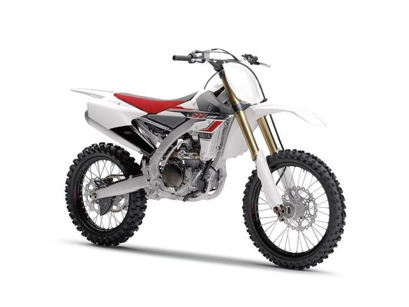 Yamaha Yz450f White Red motorcycles for sale