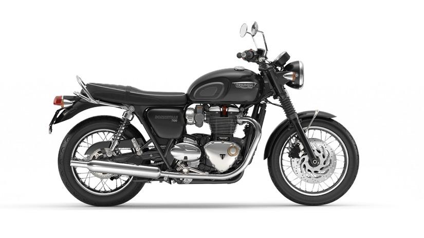 Demo Triumph Bonneville Motorcycles for sale