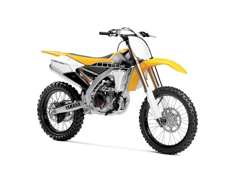Yamaha Yz 450f 60th Anniversary Yellow motorcycles for sale