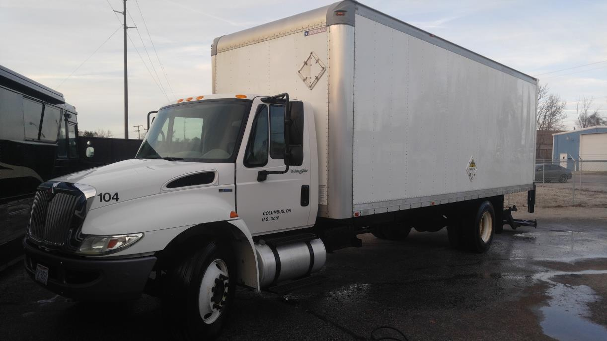 hight resolution of 2011 international 4300 box truck straight truck