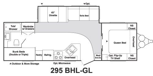 Keystone Springdale 295bhl Gl RVs for sale