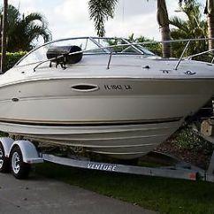 Sea Ray Warranty 2000 Silverado Radio Wiring Diagram 225 Weekender Boats For Sale In Florida 2002 24ft New Engine W Cuddy Cabin