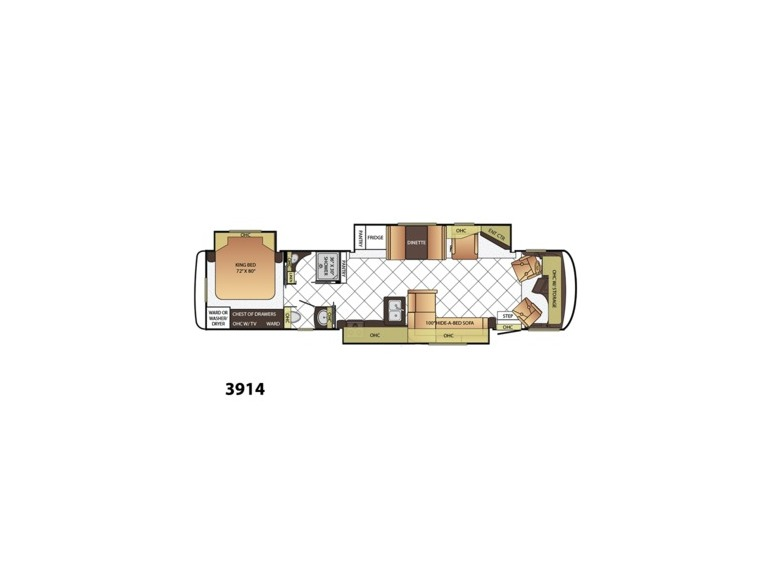 Newmar Canyon Star 3914 rvs for sale
