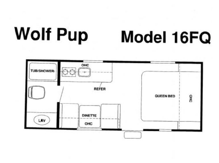 Forest River Cherokee Wolf Pup 16fq rvs for sale in Illinois