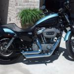 Blue Harley Nightster Motorcycles For Sale