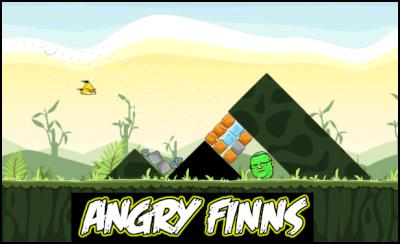 angry birds, angry finns, gerry brownlee
