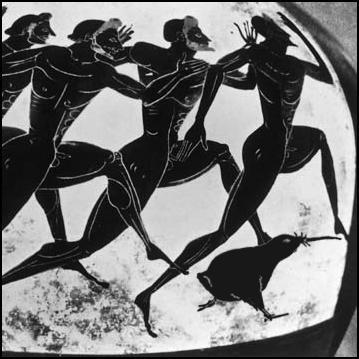 kiwi, olympics, greek pottery, marathon