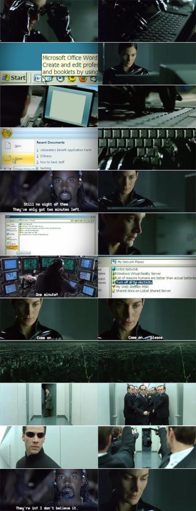 the matrix, msd data breach, kiosk, network security
