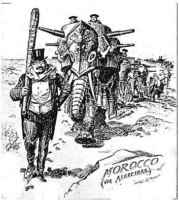 Political Cartoon 12 Big Stick Diplomacy In The Western