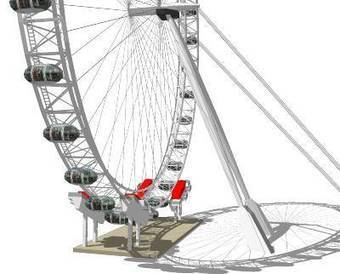 3dHH-London-Eye-v3 (5cm/px phototexture, 3d-PDF...