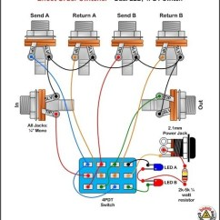 3 Way Toggle Switch Guitar Wiring Diagram 1999 Ford Mustang True Bypass Loopers, Switchers, Muters, And Vol...