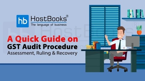 revolving chair gst rate universal covers canada tds accounting software india hostbooks a quick guide on audit procedure assessment ruling recovery