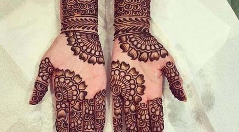 Latest Mehandi Designs Images For Hands
