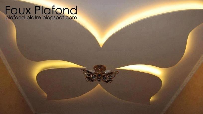 Faux Plafond Platre 2014 Dcoration Et D