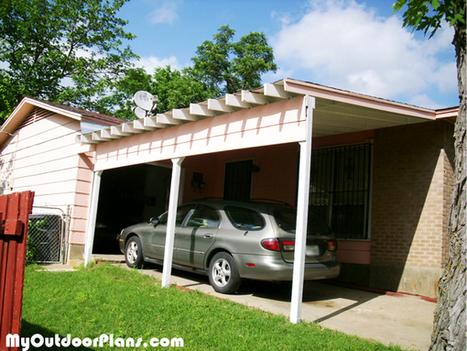 Diy Carport Attached To House Myoutdoorplans