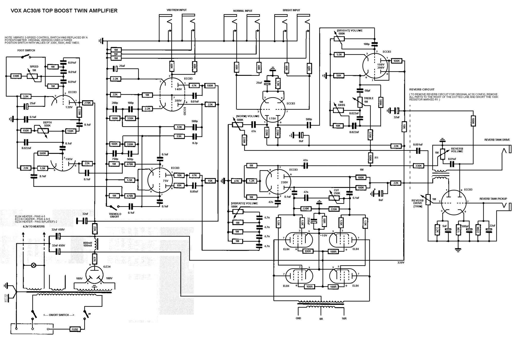 orange rockerverb wiring diagram