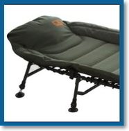 fishing chair bed reviews one piece patio cushions carp kinetics padded six leg bedchair carpbuddy tackle and