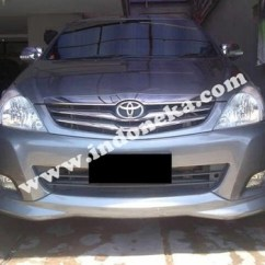 Bodykit All New Kijang Innova Model Grand Avanza 2015 Jual Toyota Aksesori