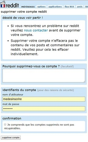Se Desinscrire De Meetic : desinscrire, meetic, Supprimer, Compte, Reddit, Désinscr...