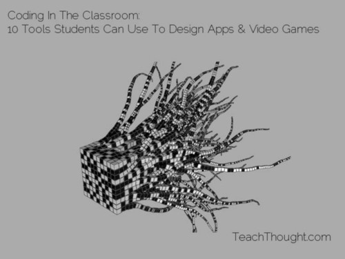 Coding In The Classroom: 10 Tools Students Can Use To