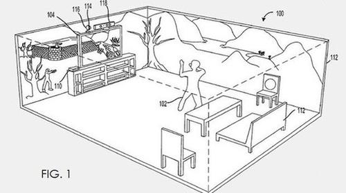 Microsoft brevetta un sistema di gioco con Kinect e